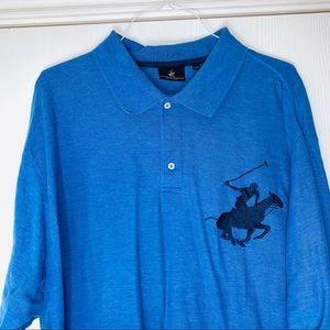 Beverly Hills Polo Club Mens Shirt. Size 3XLT